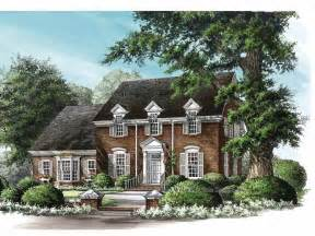 Federal Style Home Plans Ideas by Georgian House Plans At Home Source Colonial