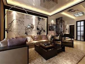 wall dekoration ideas for living room aesthetics decor With best brand of paint for kitchen cabinets with papiers peints de luxe