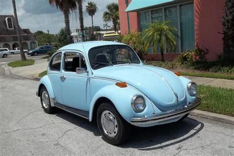 1971 Baby Blue Vw Super Beetle