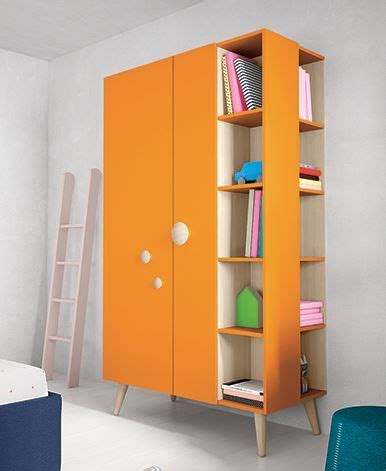 Wooden Wardrobe With Shelves by Battistella Woody Wardrobe With Open Shelves So Many