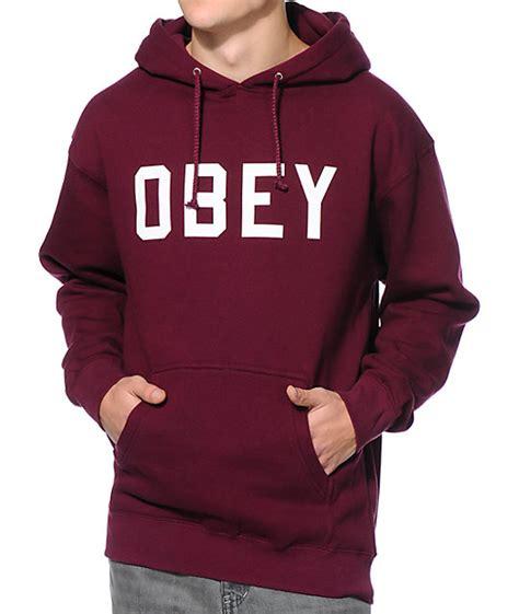 zumiez obey sweaters