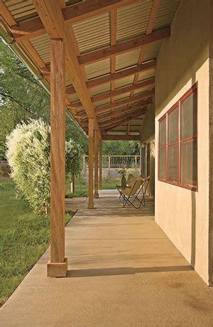 Pole Barn Porch Porch Pinterest Porch  Barn