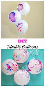 DIY Marble Balloons - Val Event Gal