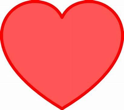 Heart Clip Clipart Pink Clker Cliparts Vector