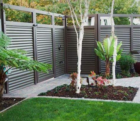 corrugated metal fence design fence design google and corrugated metal on pinterest