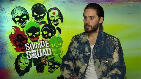 Jared Leto Nos Habla De Joker En Escuadrón Suicida Youtube
