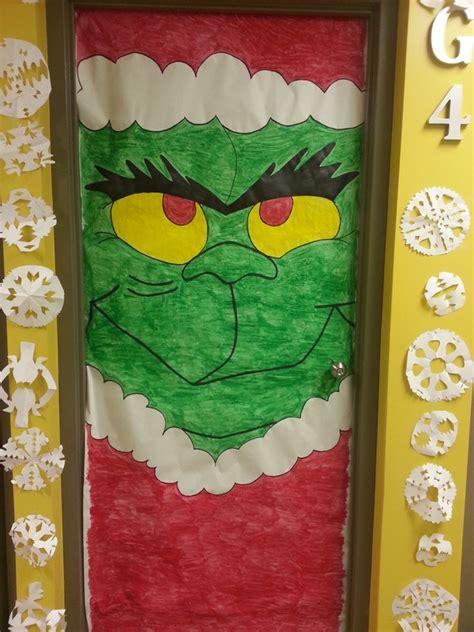 christmas door decoration for six graders miss nitta s grade 4 class 2013 2014 classroom