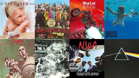 Coolest Album Covers of All Time
