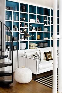 osez une deco couleur bleu canard dans votre interieur With couleur qui se marie avec le bleu