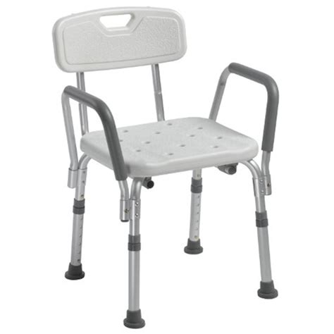 drive shower chair with back and removable padded