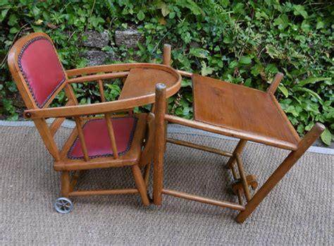 chaise haute pour b 233 b 233 d occasion vintage
