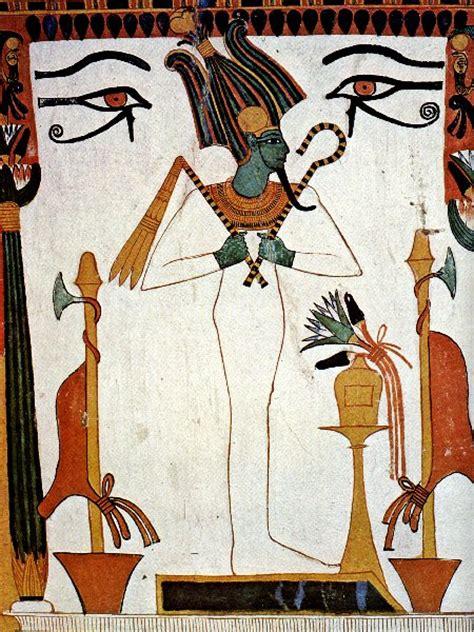 la coiffeuse de dieu osiris dieu de la terre et de la v 233 g 233 tation