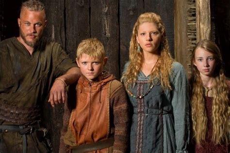 Ragnar Bjorn Lagertha And Gyda Lothbrok Vikings Show