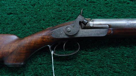 Msg594 Cased English Double Barrel Hammer Shotgun
