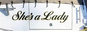Boat lettering faq for Boat lettering styles