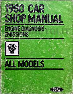 1980 Ford Truck Repair Shop Manual Econoline Van F100