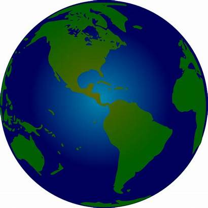 Globe Clip Earth Clipart Animated Hemisphere Southern