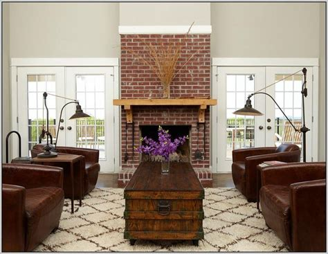 41 family room ideas with brick fireplace white brick