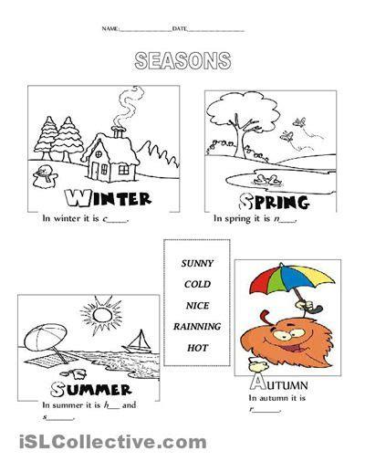 seasons worksheet free esl printable worksheets made by