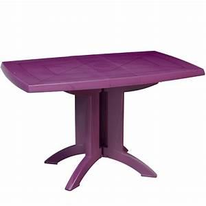 Table Jardin Pliable : table de jardin pliante vega grosfillex ~ Teatrodelosmanantiales.com Idées de Décoration