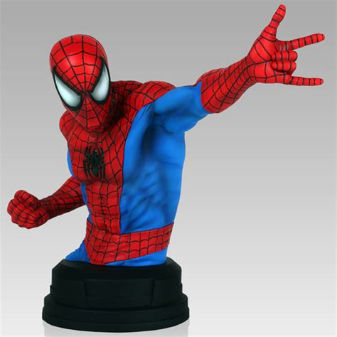 Spider-Man Red and Blue Mini Bust