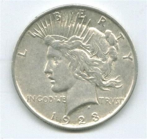 1923 silver dollar value 1923 peace silver dollar value