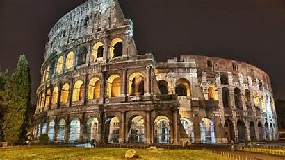 Colosseum Rome Italy Ancient Wallpapers Coliseum Architecture