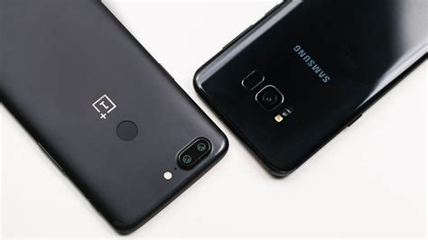 samsung galaxy s8 oneplus 5t dois universos em colis 227 o androidpit