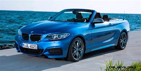 2018 Bmw 228i And M235i Convertibles Make Tail Out Top