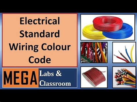standard wire colour code electrical wiring color code