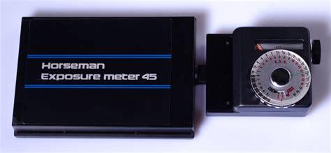 chambre 4x5 cellule horseman pour chambre 4x5 horseman exposure meter 45