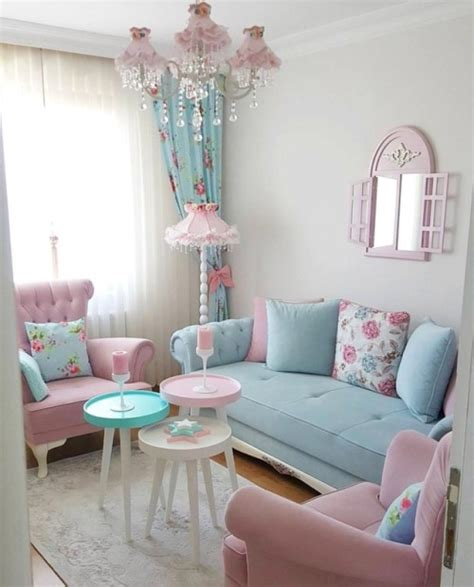 Pastel Living Room Tumblr