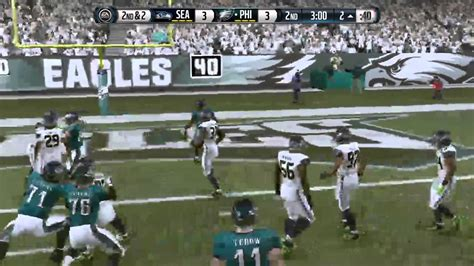mightoftubious plays madden  seahawks  eagles nfc