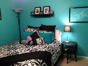 tiffany blue black and purple bedroom decorating ideas