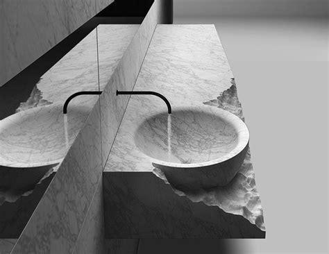 Henry Timi?s Corpo bathroom collection mimics rocky