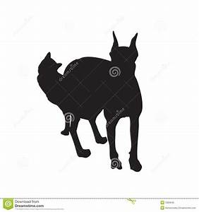 Dog And Cat Silhouette Together