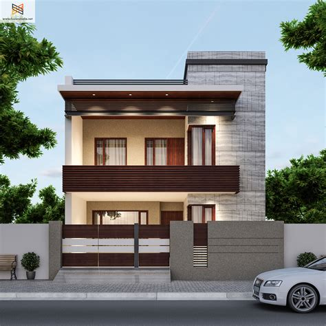 Home Design Ideas Front by 250 Yards House Elevation On Behance