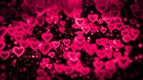 hearts abstract love background  motion background