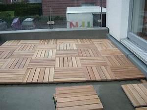 Terrassen holzfliesen verlegen innenraume und mobel ideen for Terrassen holzfliesen