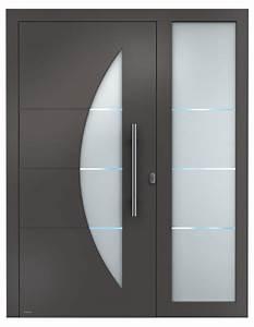 Glasscheiben Für Innentüren : aluminium haust ren sedor modern mit seitenteil aluminium haust ren einstiegsmodelle von weru ~ Indierocktalk.com Haus und Dekorationen