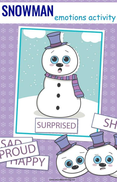 preschool emotions printables snowman activities 297 | Preschool Emotions Printables Snowman Activities