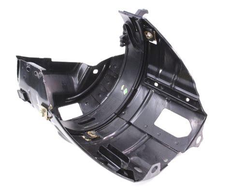 rh headlight mount bucket   vw beetle head light lamp bracket genuine