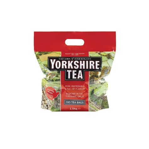 Yorkshire Tea Bags 1 Cup Tea Bags - Pack of 1200 - Surgery