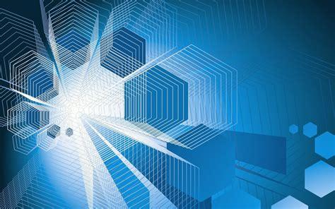 background keren biru abstrak hd gratis