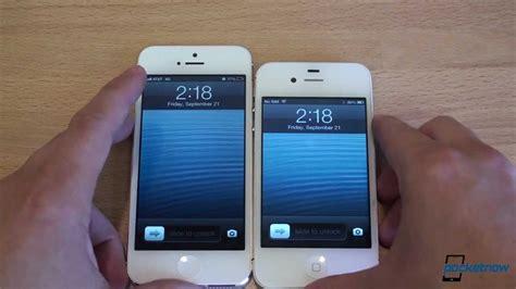 iphone 4s vs iphone 5 iphone 5 vs iphone 4s