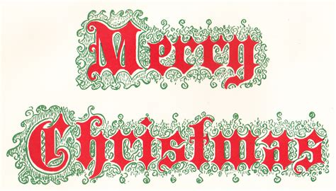 Merry Clip Vintage Merry Clipart Happy Holidays