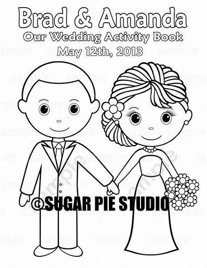 Coloring Printable Activity Personalized Reception Games Favor