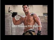 2012 Houston Fire Fiighters calendar YouTube