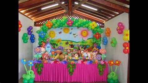 Ideias decoração festa Aniversário jardim encantado YouTube
