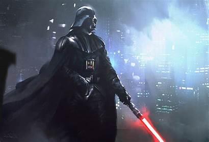 Vader Darth Wars Desktop Artwork Wallpapers Lightsaber